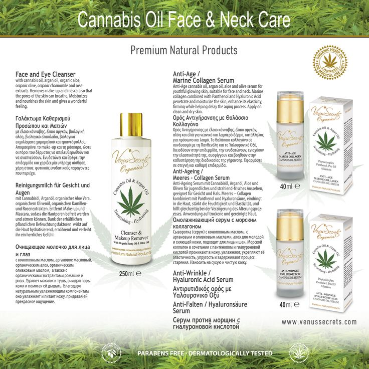Cannabis Oil Face & Neck Care