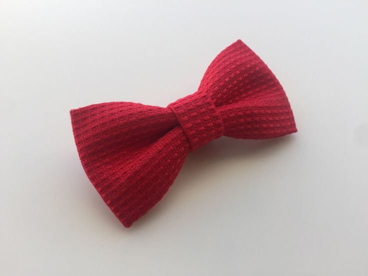 A personal favorite from my Etsy shop https://www.etsy.com/listing/490258949/red-bow-tie-red-textured-bow-tie-baby