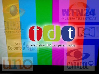 tercer canal colombia TDT2