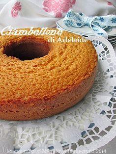 Il ciambellone di Adelaide è una famosa torta con olio che trova sul web molte varianti per l'aggiunta di uvetta, cacao etc. Ricetta dolce La cucina di ASI