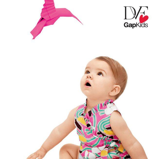 DVF Gap infant girl