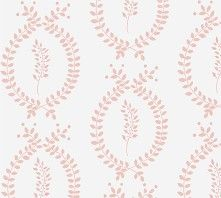 Laurel paper in pink, from Anna Jeffreys' lovely new collection