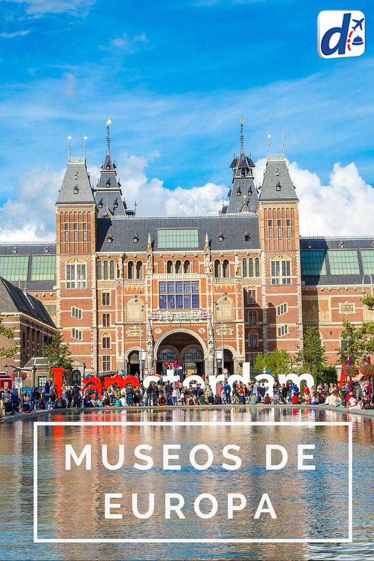 Descubrí cuáles son los mejores #MuseosDeEuropa que no pueden dejar de visitarse, porque albergan las mejores colecciones de arte del mundo y son íconos de cada ciudad. Además, ¡te contamos cuáles son las obras imperdibles para ver dentro de cada uno! #viajar #trip #travel #Europa