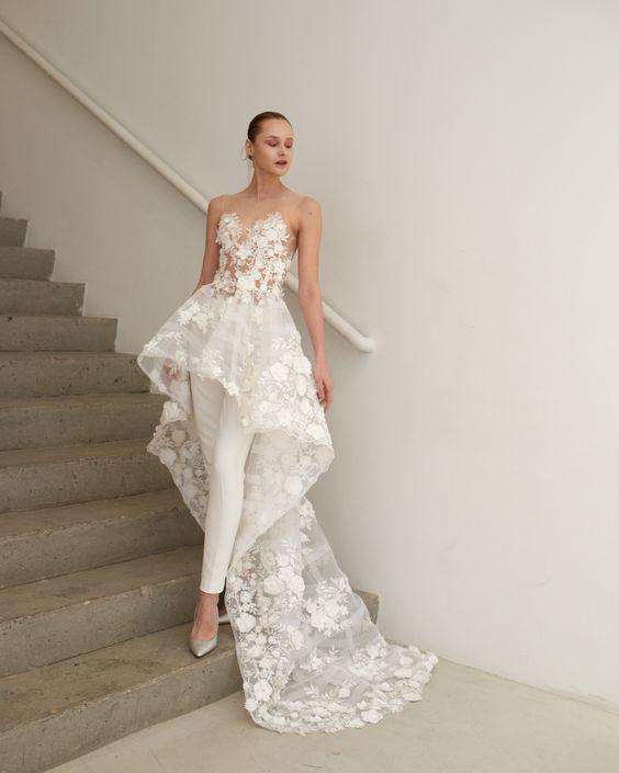 Vestidos de novia civil 2019