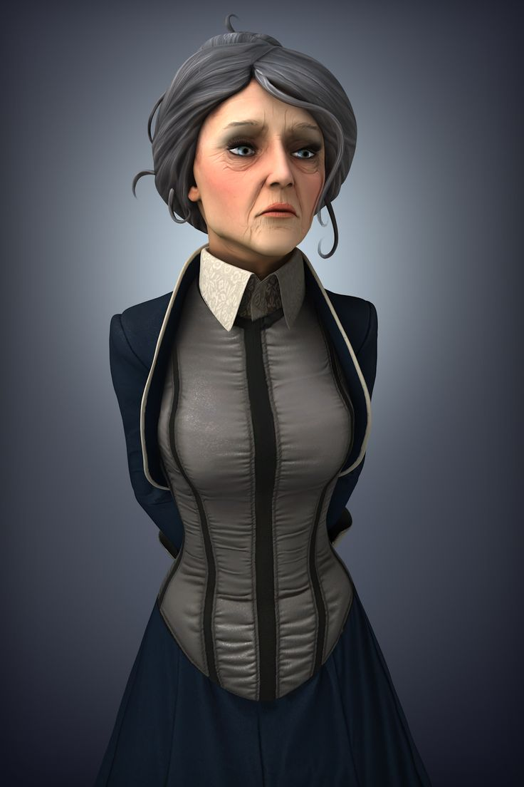 3d Модель Элизабет Bioshock