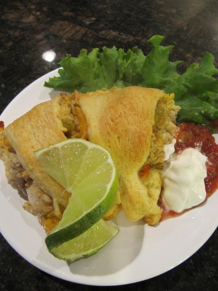 Chicken Enchilada Ring