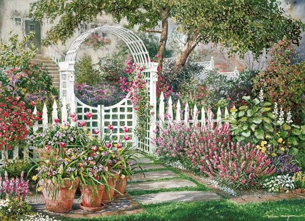 102 best art william mangum images on pinterest for Bill garden designs