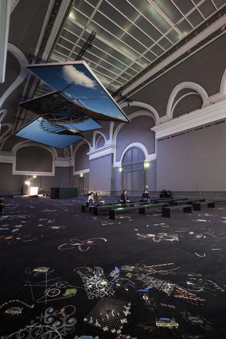 Almagul Menlibayeva exhibition at The grand Palais in Paris, France