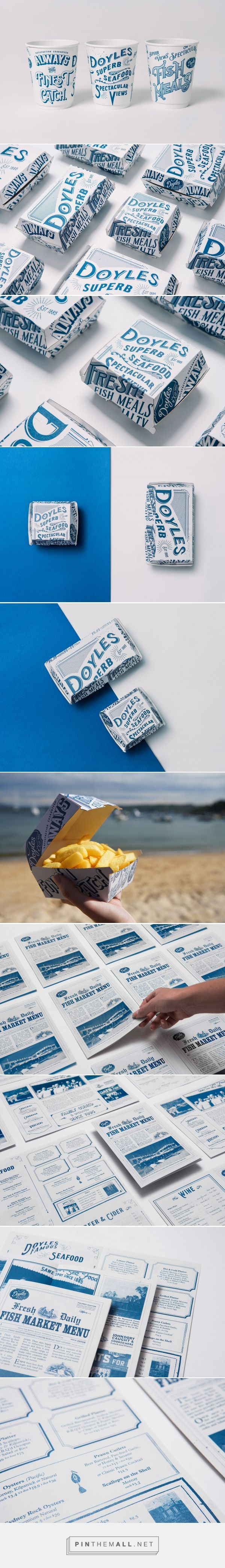 Doyles Seafood Brand Refresh - Packaging of the World - Creative Package Design Gallery - https://www.packagingoftheworld.com/2018/03/doyles-seafood-brand-refresh.html