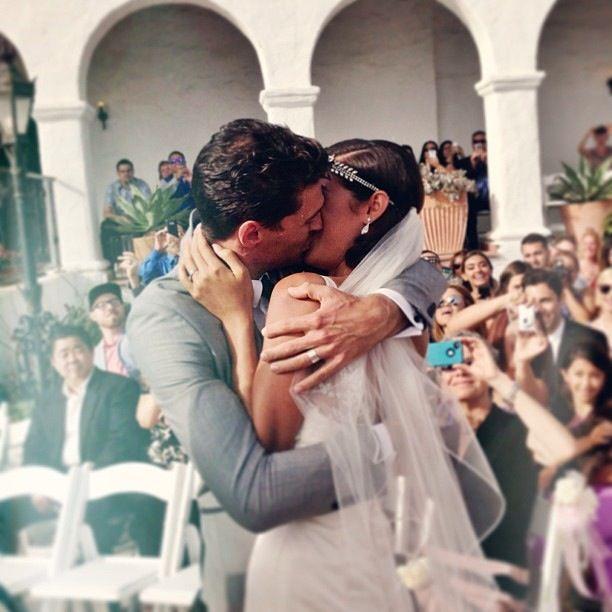 Joel Smallbone + Moriah Peter's first kiss EVER wedding