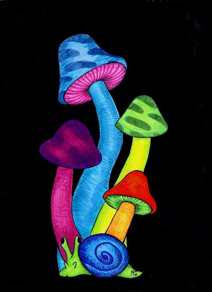 mushroom art - Google Search