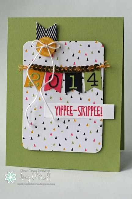 Stampin' Up! card using the Yippee-Skippee stamp set!