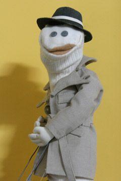 A human sock puppet - 2 1