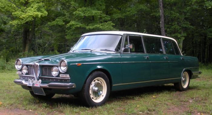 Clicca sul post e potrai vedere una scheda dettagliata di questa Alfa Romeo 2600 Berlina Limousine. Sul sito Ruote Vecchie troverai molte bellissime auto.
