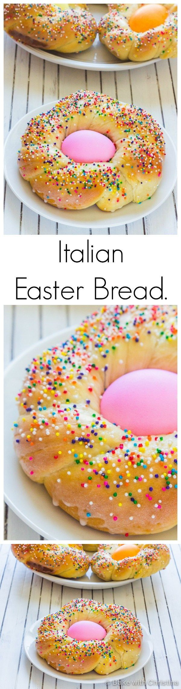 10 Egg. 2 tsp Lemon juice. 1/2 tsp Anise extract. 5 cups Flour. 1 cup Powdered sugar. 1 package Rapid rise instant yeast. 1 Pinch Salt. 1/2 cup Sugar. 1/2 tsp Vanilla extract. 3/4 cup Butter, unsalted. 1 1/8 cup Whole milk. 1 Rainbow nonpareils.