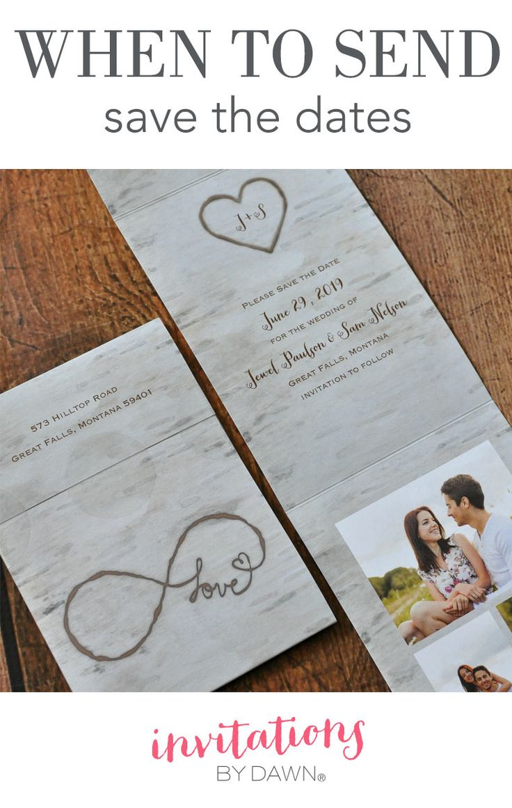 When Do You Need To Send Your Save The Dates It Depends On Many Factors