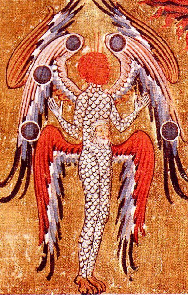 From 'The Visions of Hildegard von Bingen'
