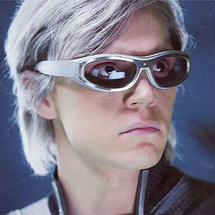 Had to post a picture of Quicksilver since I was just watching Xmen Apocalypse.  #evanpeters #quicksilver #xmenapocalypse #freakshow #murderhouse #americanhorrorstory #ahs