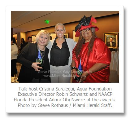 Gallery | Aqua honors Cristina Saralegui, NAACP's Adora Obi Nweze, Tim Nardi and Charles Million