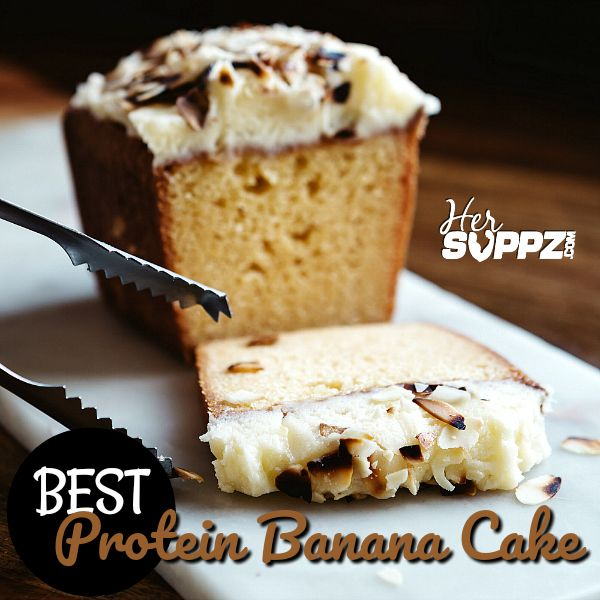 BEST PROTEIN BANANA CAKE | Best protein, Cake recipes, Food recipes