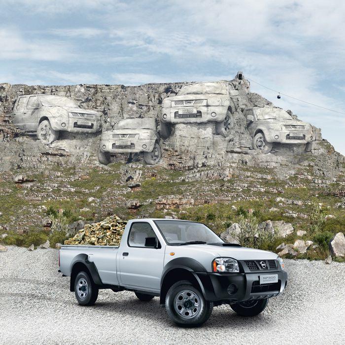 Nissan NP300 Table mountain: Disko Ferdi Dick