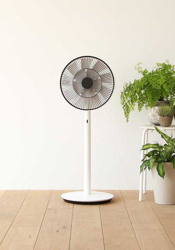 BALMUDA GreenFan Japan | GreenFan Japanの風がもっとも気持ちよく感じられるのは、風が柔らかく変化する1メートル以上離れたところ。涼しさだけではない心地よさを感じられます。