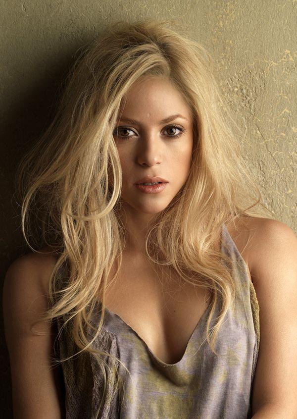 Shakira hair. My husband loves her