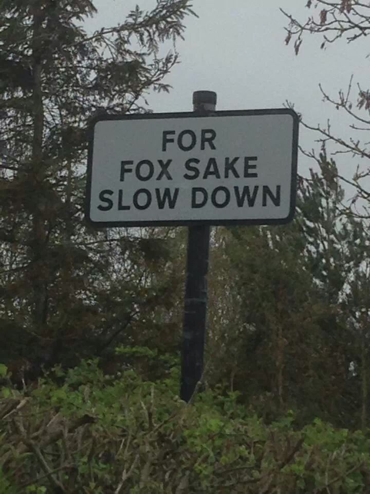 My friend passed this road sign in Oxfordshire today