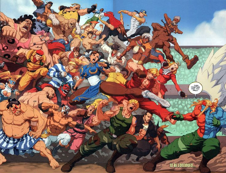 Street Fighter Unlimited Issue #10 - Read Street Fighter Unlimited Issue #10 comic online in high quality