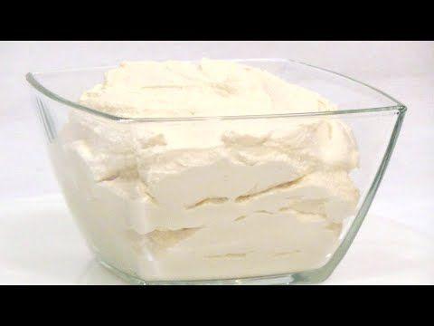 Домашний сливочный сыр (крим чиз) за 30 минут - YouTube