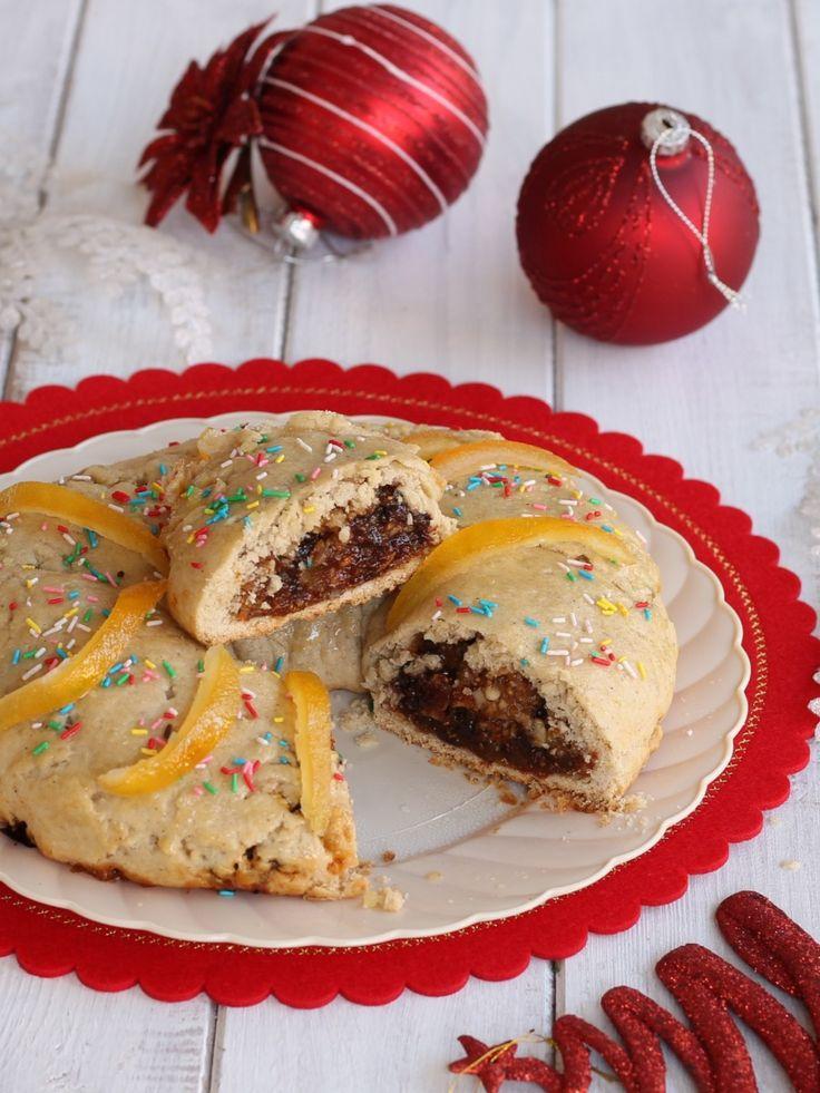 BUCCELLATO SICILIANO SENZA BURRO E UOVA ricetta dolce di Natale
