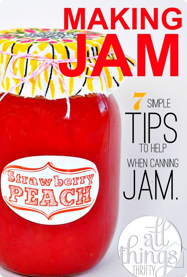 7 simple tips to homemade strawberry peach jam {and instructions}