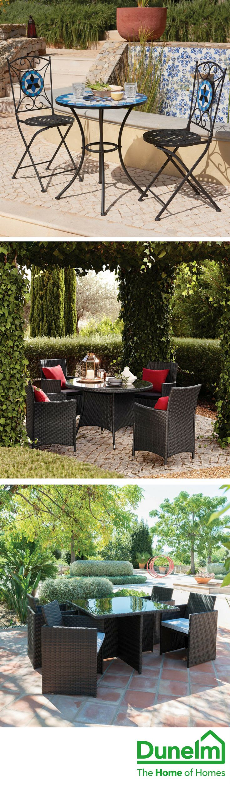 Get the best from your space and craft your favourite sunny spot this summer, with our wide range of garden furniture and accessories. From dining sets and BBQs, to loungers and fire pits, you can maximise the fun outdoors whatever the size of your space