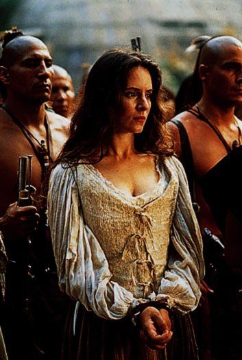 Cora Munro in (the book) the Last of the Mohicans. A strong and godly woman.