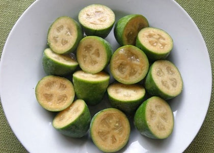 Feijoas - I will be hunting for these in London in May