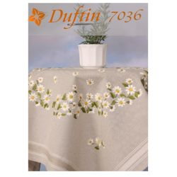 """Набор для вышивания скатерти """"Ромашки"""" Duftin 7036"""