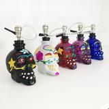 Sugar Skull Bong from shopstaywild.com is perfect for halloween! #cannabis #halloweed #weed #stoner #marijuana #pipe #bubbler #grinder #420 #hightimes #massroots #ganja #skull #kush #chronic #cbd #edibles