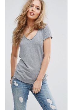 Abercrombie & Fitch Voop T-Shirt - Grey https://modasto.com/abercrombie-fitch/kadin-dis-giyim/br21370ct54