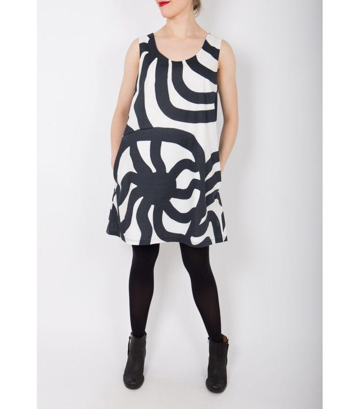 Marimekko BW Print Dress, 42 - WST