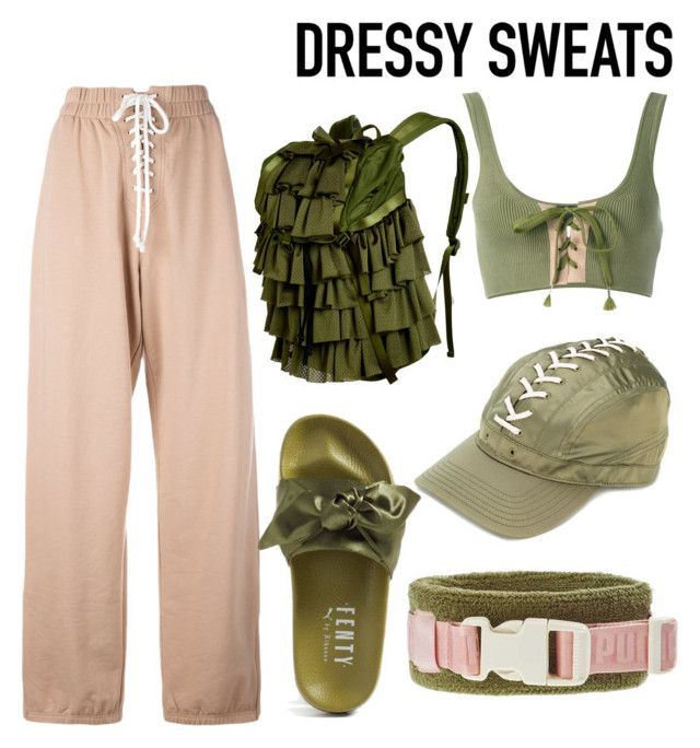 """sweatpants"" by geopaganeli on Polyvore featuring Puma"