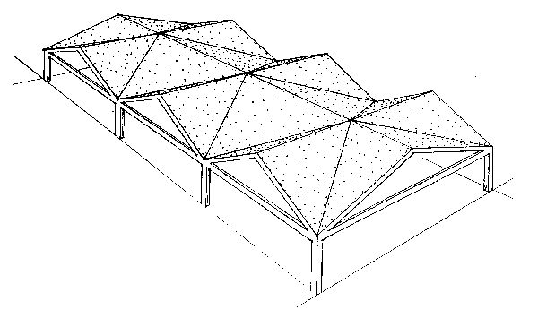 Folded Plate Truss The Term Is Intended To Indicate