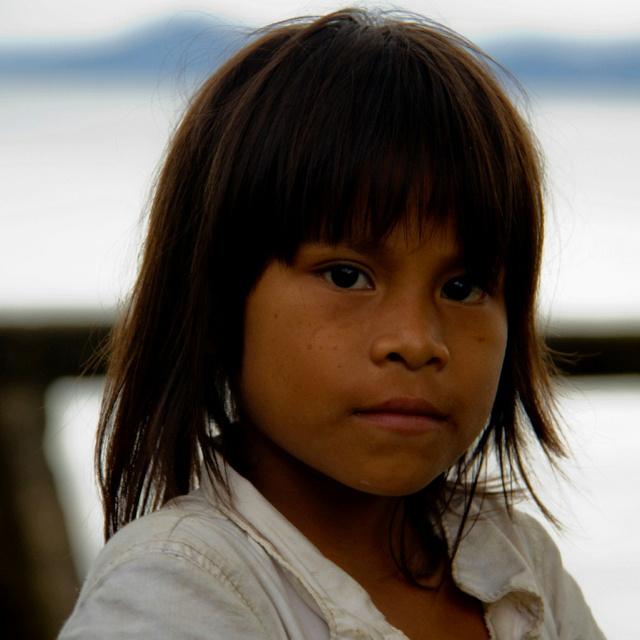 Beautiful Indigena in Bahia Solano