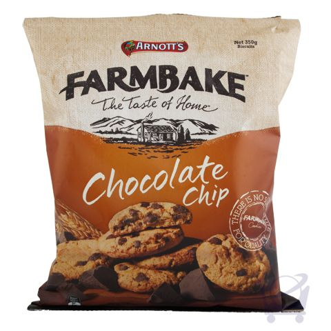Chocolate Chip Cookies – Farmbake 350 g | Shop Australia