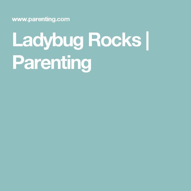 Ladybug Rocks | Parenting