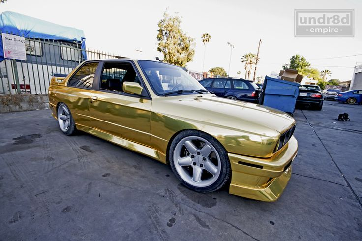gold wrapped e30 m3 bmw pinterest e30 gold and bmw