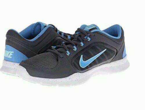 NIKE WOMEN'S SHOES RUNNING TRAINING SNEAKERS ATHLETIC GRAY BLUE NEW #nike #RunningCrossTraining