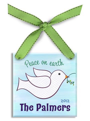 172 best personalized baby gifts images on pinterest baby gifts peace dove ornament jack and jill boutique negle Gallery