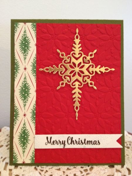Star of Light and DSP and Petals Embossing Folder