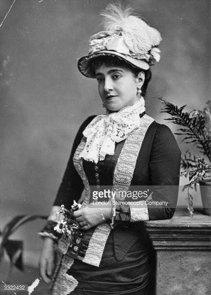 News Photo : Anglo-Italian soprano Adelina Patti , who became...