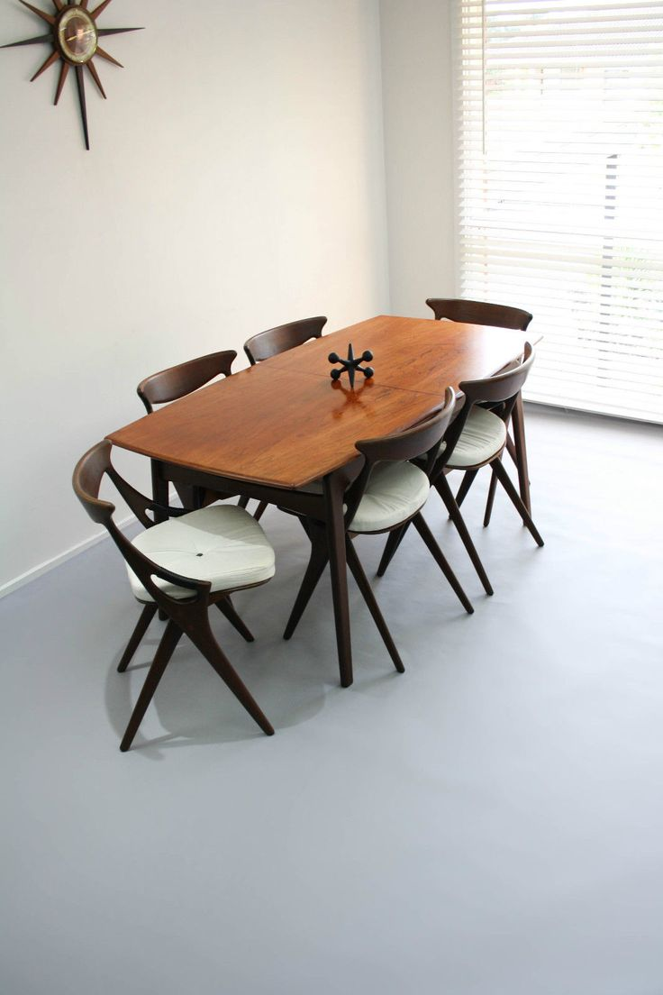 Retro Extending Dining Table 125 Best Images About Mid Century Dining Furniture By 360 Modern